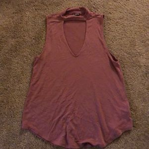 Purple Top from Express